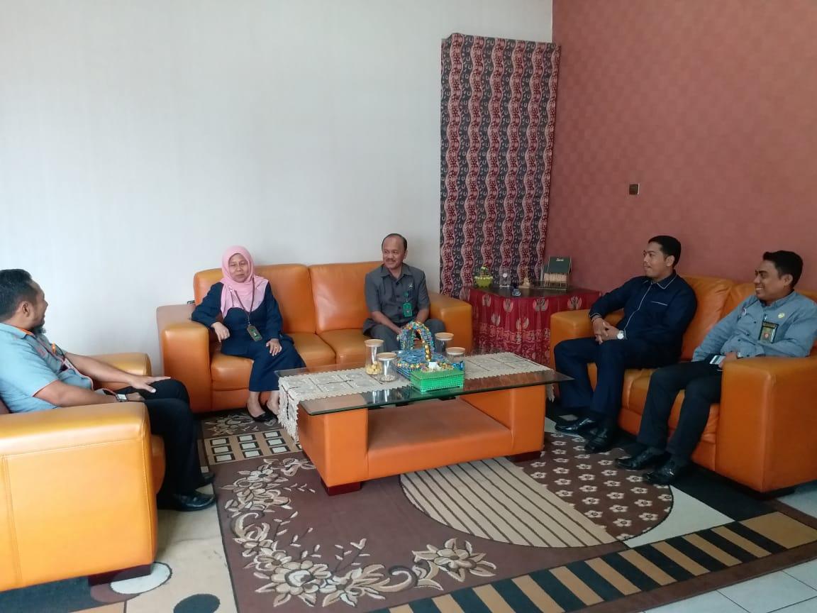 Pimpinan PA Jambi Kembali Membicarakan Kerjasama Dengan PT. POS Jambi   (20/2)