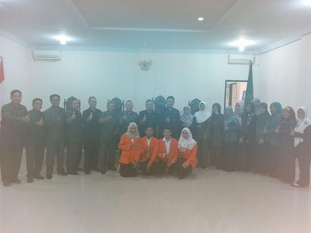 Perpisahan Mahasiswa Praktek Lapangan PPL UNJA di PA Jambi
